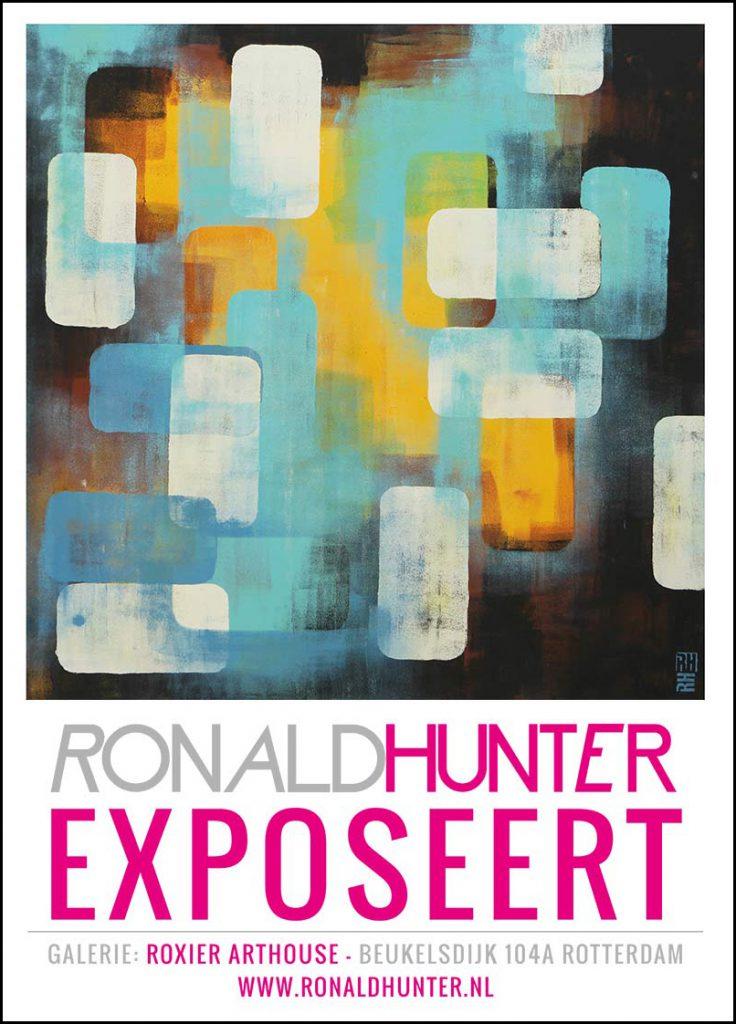 ronald hunter exposeert